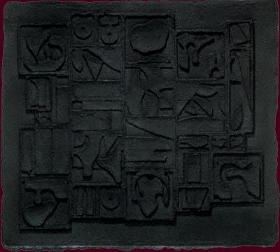 Relief Nevelson - Nightscape (1975)