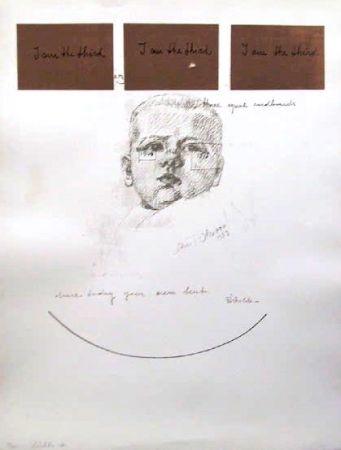 Sérigraphie Pistoletto - No. 6 from I am the Third Portfolio