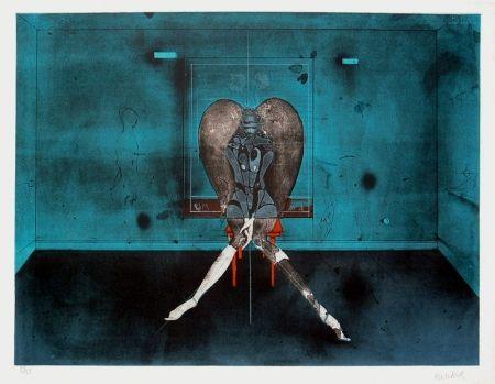 Lithographie Wunderlich - No Angel
