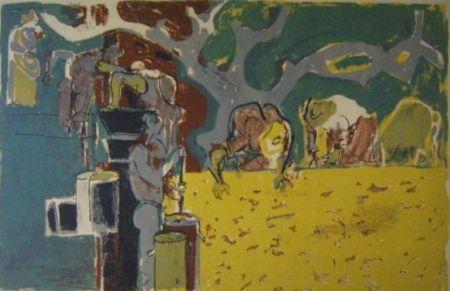 Lithographie Pignon - No title