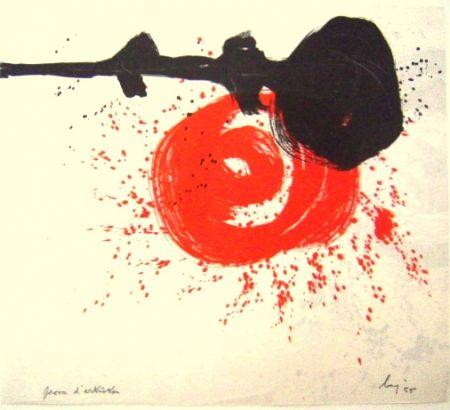 Lithographie Baj - No title