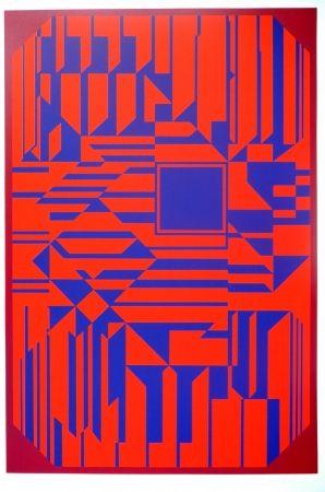 Sérigraphie Vasarely - No title