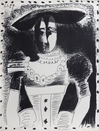 Lithographie Picasso - Nobel Dame
