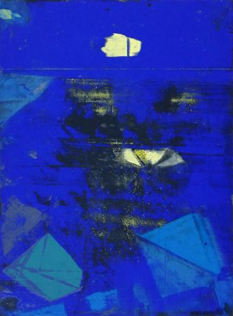 Lithographie Ernst - Nocturne