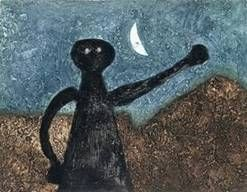 Gravure Tamayo - Nocturno