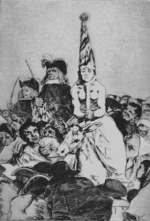 Eau-Forte Et Aquatinte Goya - Nohubo remedio