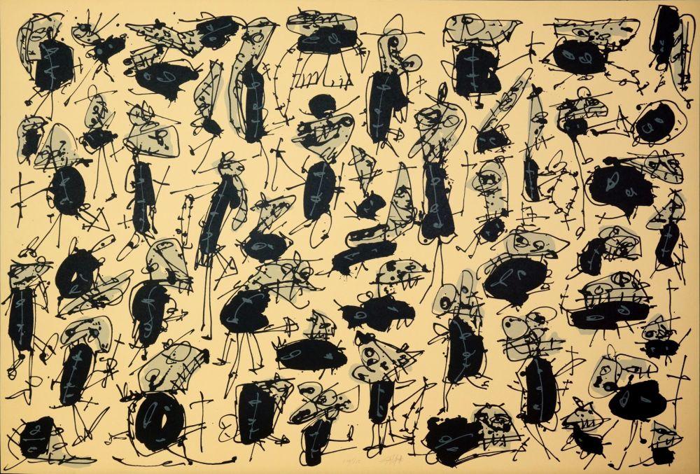 Lithographie Saura - Nombre de curés, Planches 1