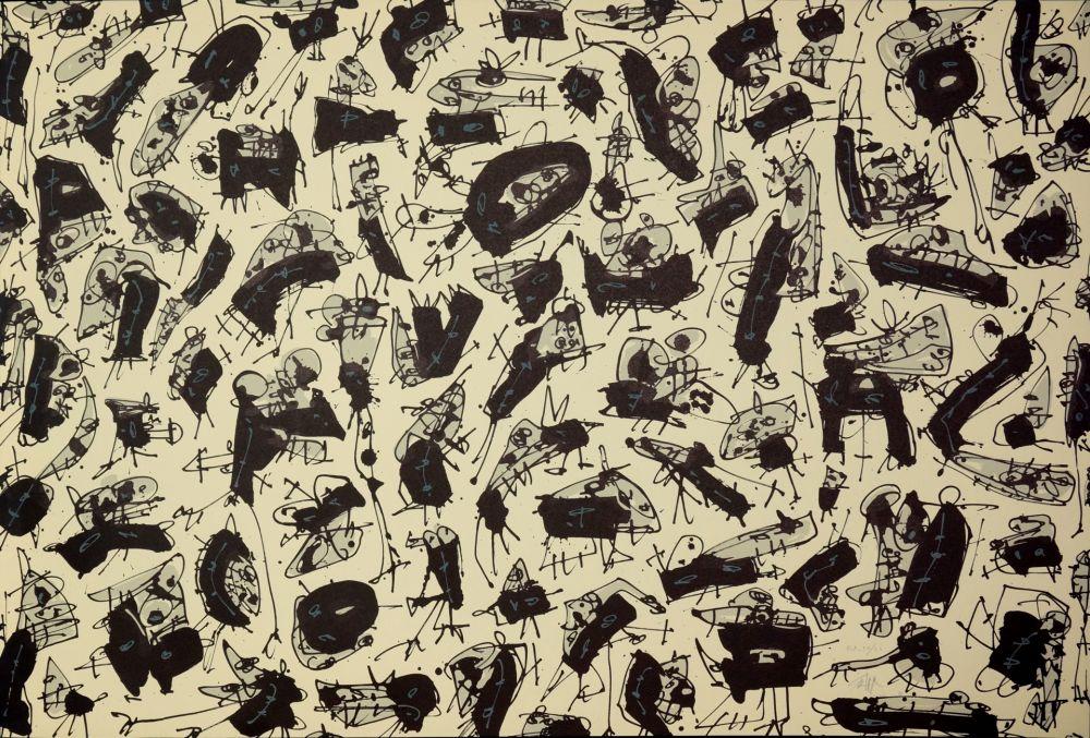 Lithographie Saura - Nombre de curés, Planches 2