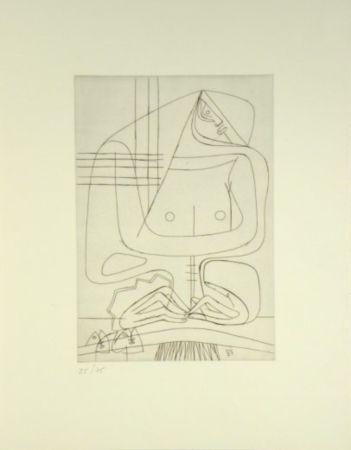 Gravure Le Corbusier -