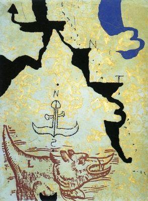 Eau-Forte Et Aquatinte Texier - Nord contre Sud