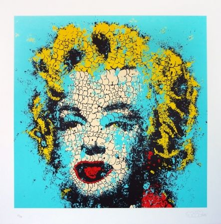 Lithographie Tilt - Norma Jeane