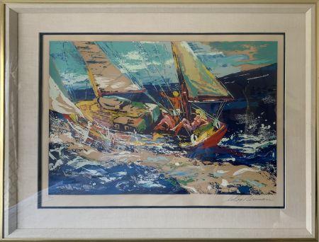 Sérigraphie Neiman - North Sea Sailing