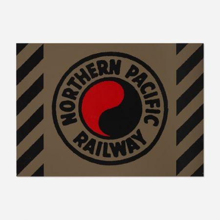 Sérigraphie Cottingham - Northern Pacific Railway