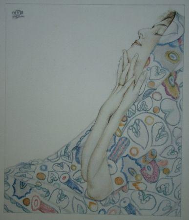 Lithographie Sauer - Nostalgie