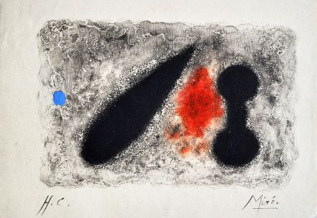Gravure Miró - Nous Avons II