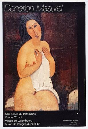 Offset Modigliani - Nu à la Chemise  Donation Masurel