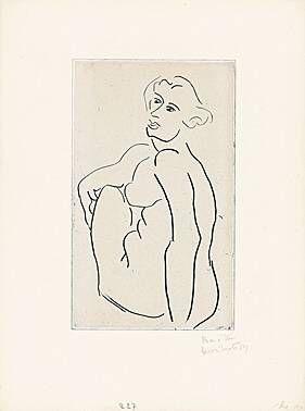 Gravure Matisse -