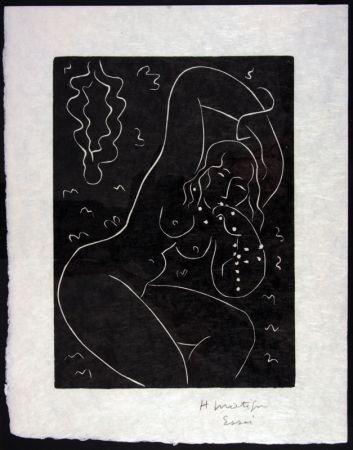 Linogravure Matisse - Nu Au Bracelet