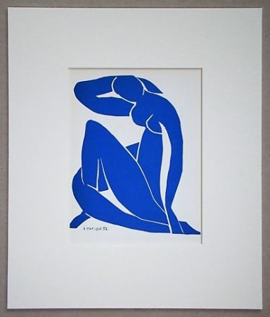 Lithographie Matisse - Nu Beu - 1952
