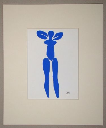 Lithographie Matisse (After) - Nu bleu debout - 1952