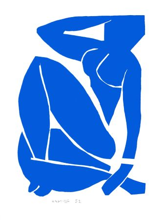 Lithographie Matisse - Nu Bleu III (Blue Nude III)