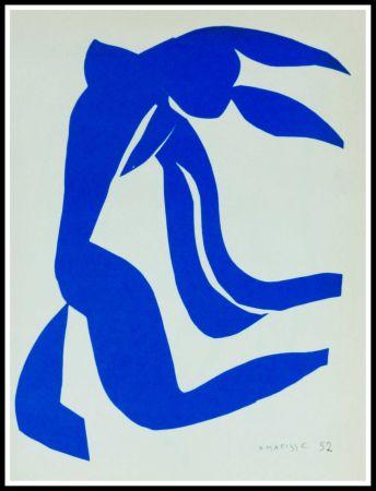 Lithographie Matisse - NU BLEU VII