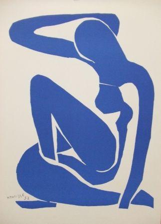 Lithographie Matisse - Nu bleu(I)