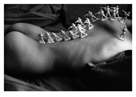 Sérigraphie Miralda - Nu (Collection Naked)