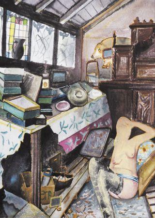 Estampe Numérique Cherkit - Nu (Collection Naked)