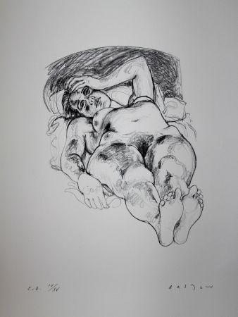 Lithographie Bastow - Nu  Féminin / Female Nude - 1