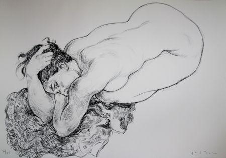 Lithographie Bastow - Nu  Féminin / Female Nude - 2