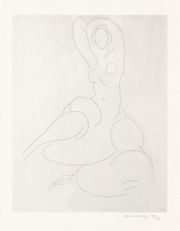 Gravure Matisse - Nu Pour Cleveland