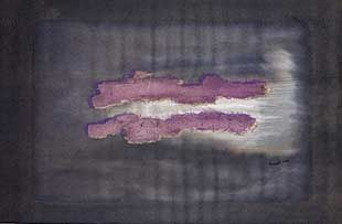 Lithographie Fautrier - Nuage 1