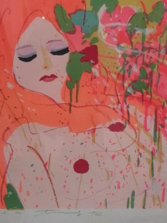 Lithographie Ting - Nude