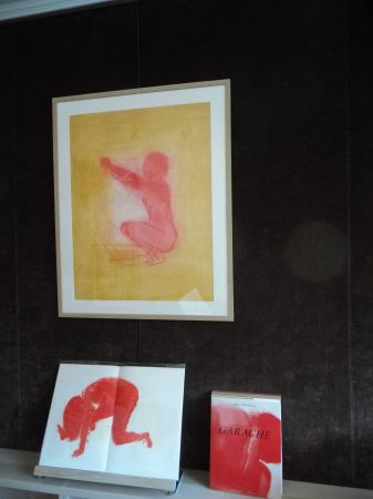 Lithographie Garache - .Nude