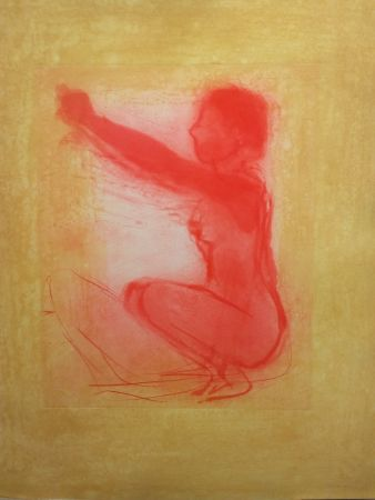 Lithographie Garache - Nude