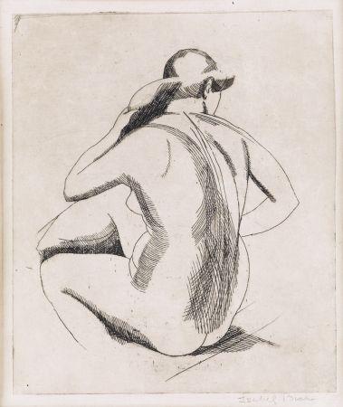 Gravure Bishop - Nude (backview)