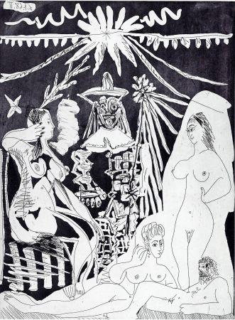 Gravure Picasso - Nudes