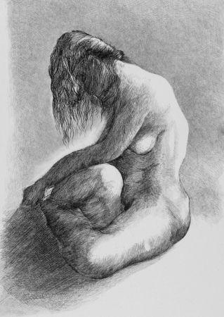 Eau-Forte Carrera - Nudo
