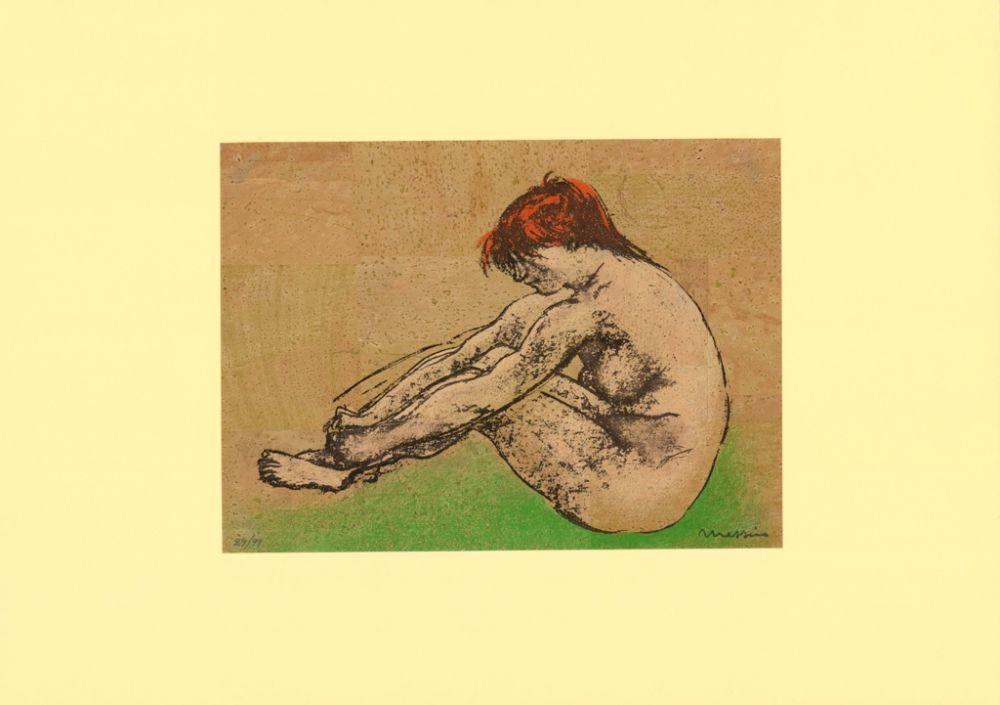 Lithographie Messina - Nudo / Nude