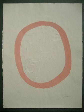 Gravure Fontana - Nudo Rosa