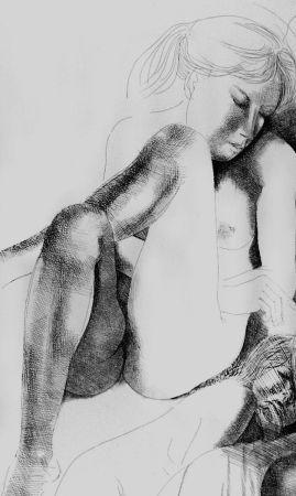 Eau-Forte Greco - Nudo seduto