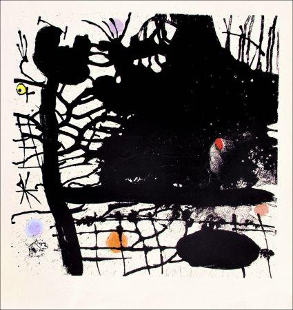 Lithographie Miró - Nuit Tentaculaire