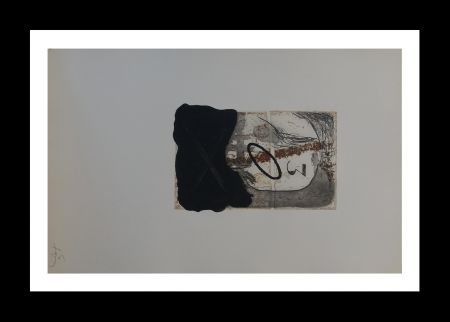 Eau-Forte Et Aquatinte Tàpies - Numero 3