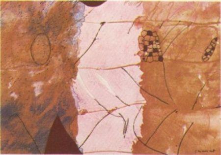 Lithographie Guégan - Nura