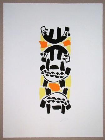 Lithographie Capogrossi - Nurnberg