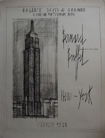 Gravure Buffet - NYC : Empire State Building