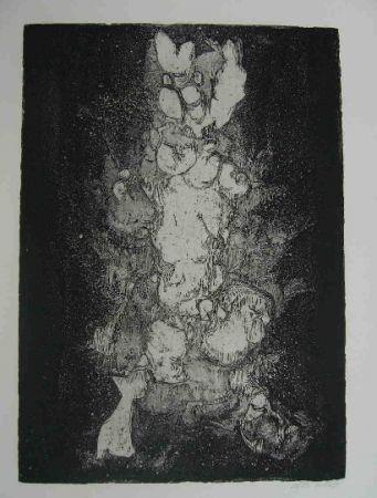 Eau-Forte Gillet - Nymphe des rats