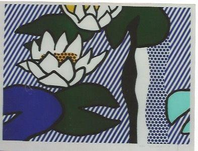 Lithographie Lichtenstein - Nympheas - Water Lilies