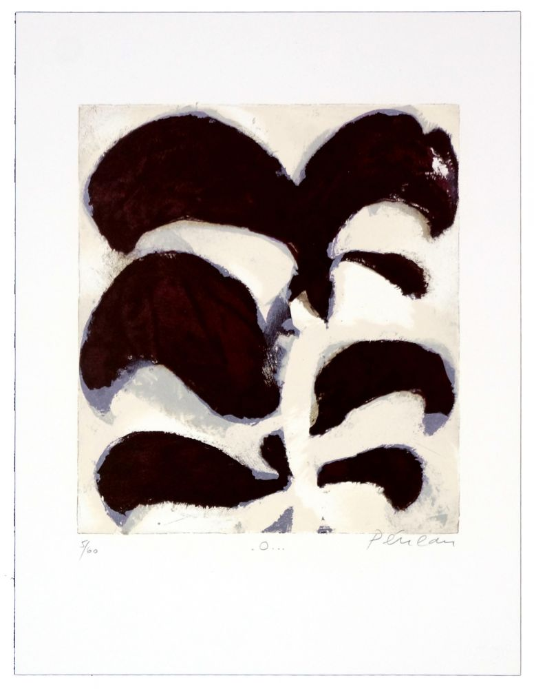 Lithographie Péneau - O